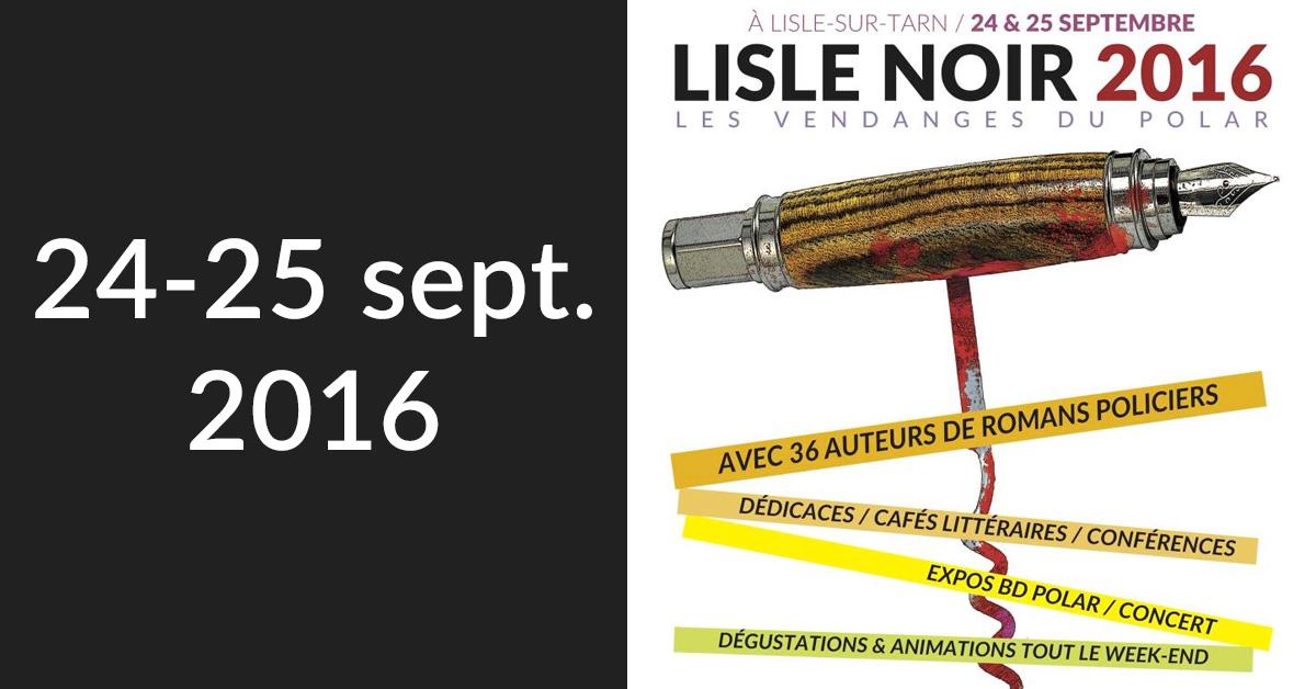 Festival « Lisle Noir »