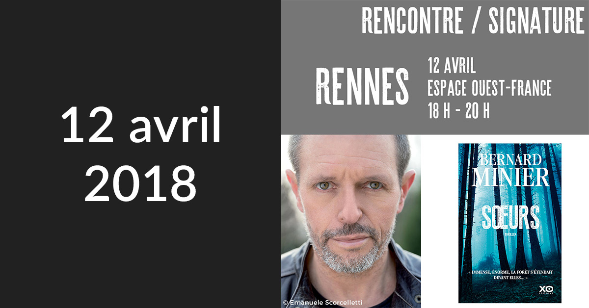 Rencontre/Signature à Rennes (Librairie Le Failler)