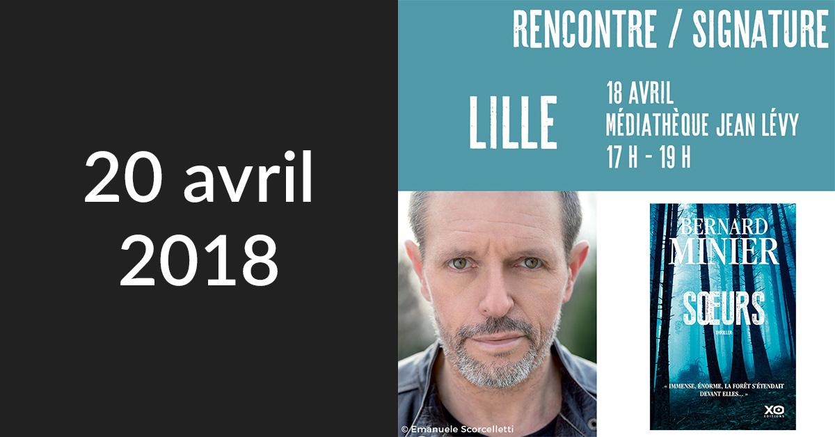 Rencontre/Signature à Lille (Médiathèque Jean Lévy)