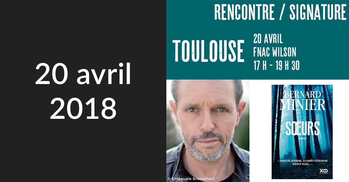 Rencontre/Signature à Toulouse (Fnac Wilson)