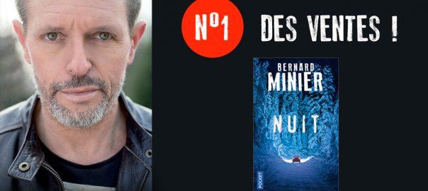 Nuit de Bernard Minier est numéro 1 des ventes