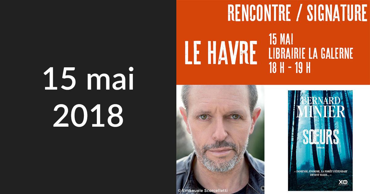 Rencontre/Signature au Havre (Librairie La Galerne)