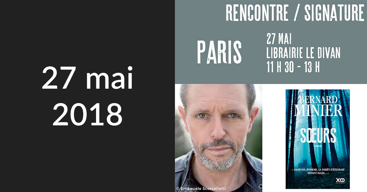 Rencontre/Signature à Paris (Librairie Le Divan)