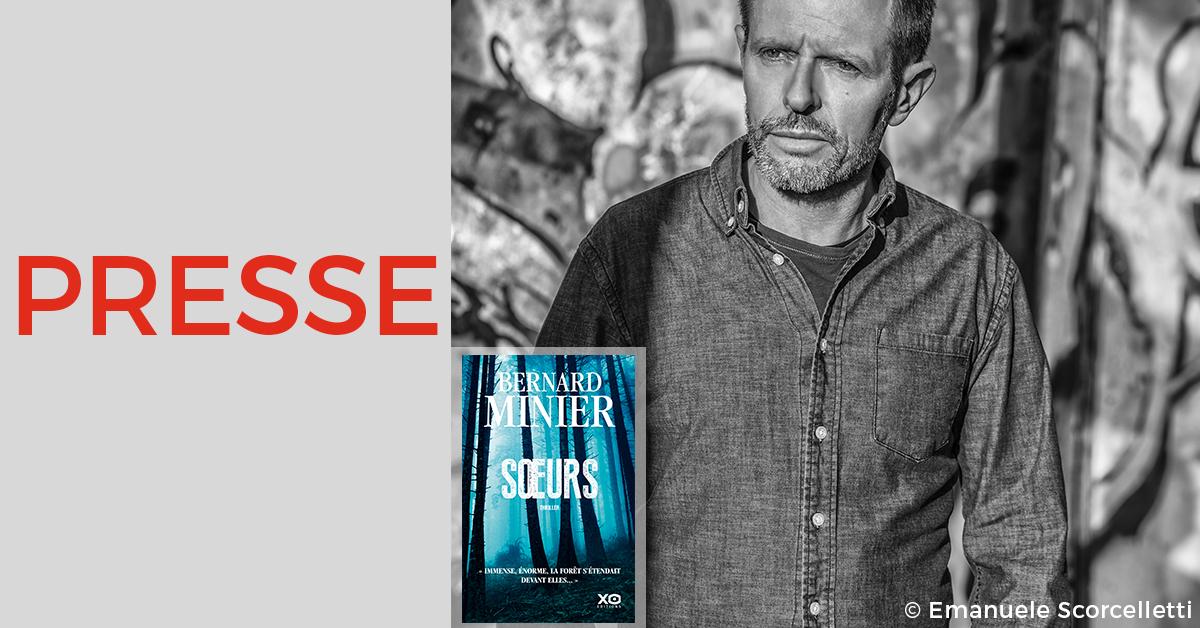 Bernard Minier analyse John le Carré dans L'Express