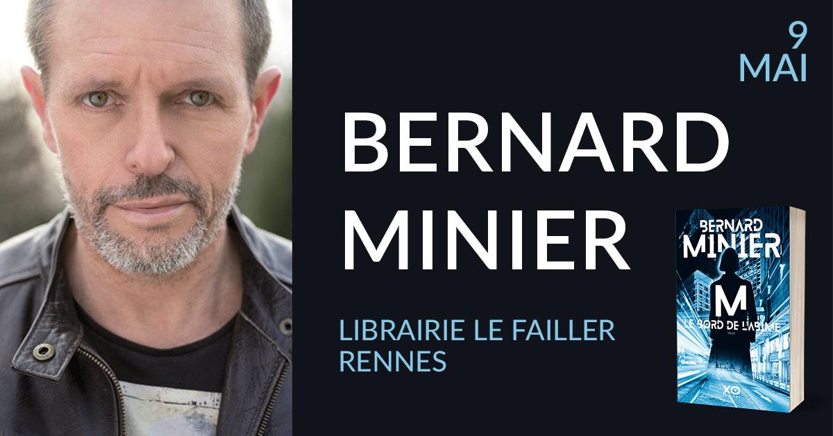 BERNARD MINIER À RENNES